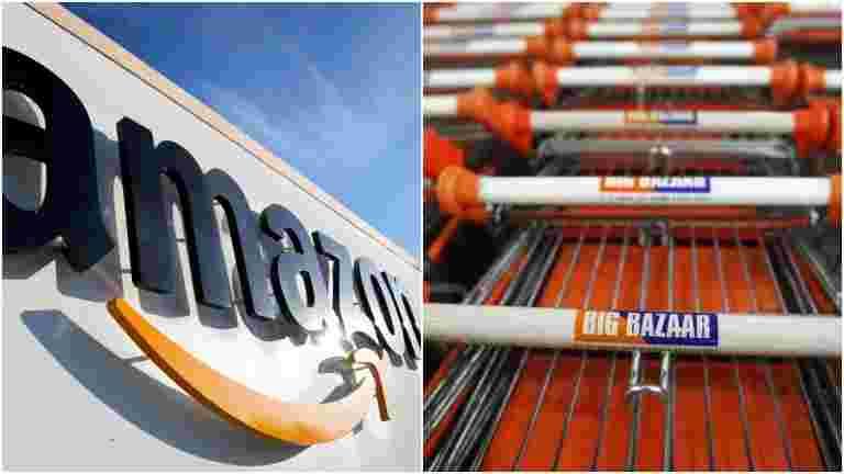 亚马逊未经未来的优惠券投资未来零售有控制权