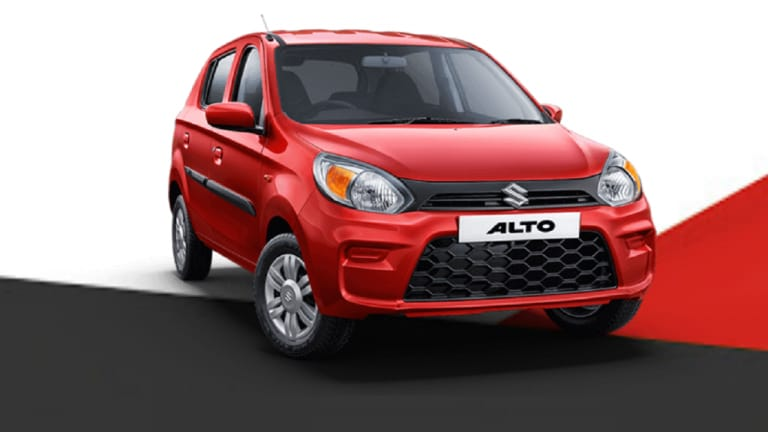 Maruti Alto完成了二十年,自首次亮相以来出售了40多个单位