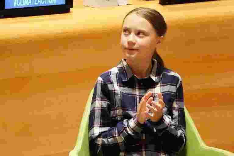 Greta Thunberg在航空排放谈判中导致蒙特利尔气候罢工