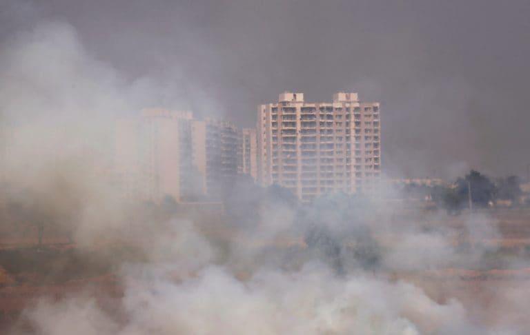关闭煤炭,生物质行业并尽量减少使用私人车辆在德里污染的工作队