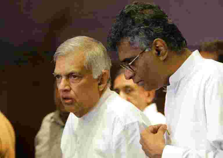 Ranil Wickremesinghe说,美国和日本冻结了斯里兰卡的斯里兰卡,ranil Wickremesinghe说