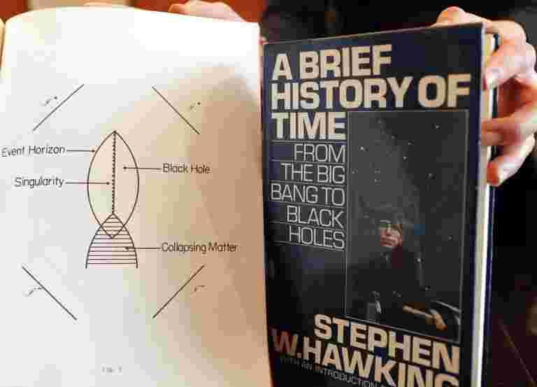 Stephen Hawking的轮椅,论文待售