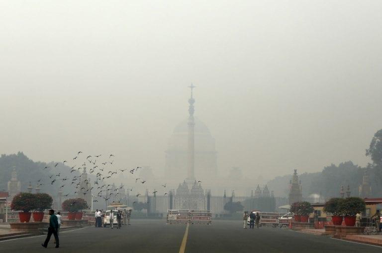 德里空气不适合早晨走路:遇见